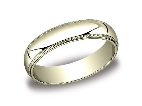 Yellow Gold Ring - 350YG - Yellow Gold, 5mm, Available: gold, plat
