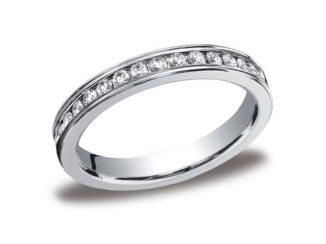 White Gold Ring - 513550WG - White Gold, 3mm, .66ct, Available: gold, plat