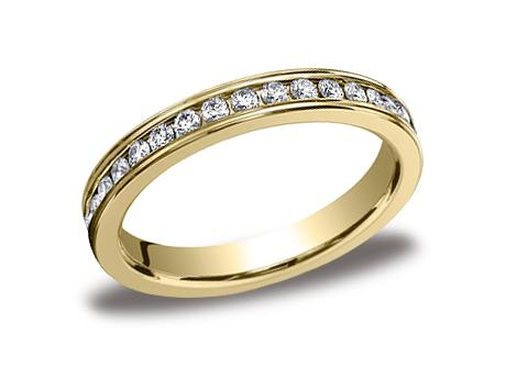 Yellow Gold Ring - 513550YG - Yellow Gold, 3mm, .66ct, Available: gold, plat