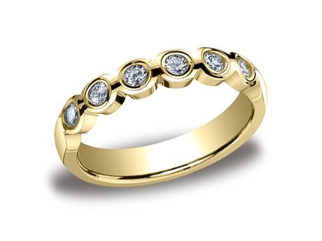 Yellow Gold Ring - 514129HFYG - Yellow Gold, 4mm, .36ct, Available: gold