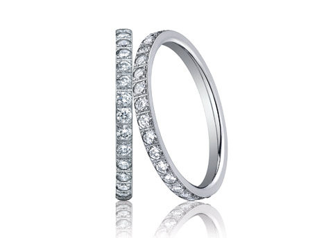 Wedding Bands - Whether you're looking for eternity bands, channel set bands, or a band custom fit to your ring, we have a large collection of wedding bands to fit every style.