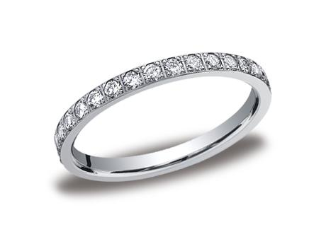 White Gold Ring - 522721WG - White Gold, 2mm, .66ct, Available: gold