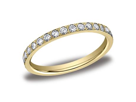 Yellow Gold Ring - 522721YG - Yellow Gold, 2mm, .66ct, Available: gold