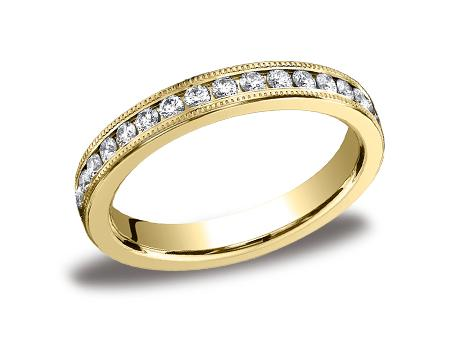 Yellow Gold Ring - 533550YG - Yellow Gold, 3mm, .66ct, Available: gold, plat