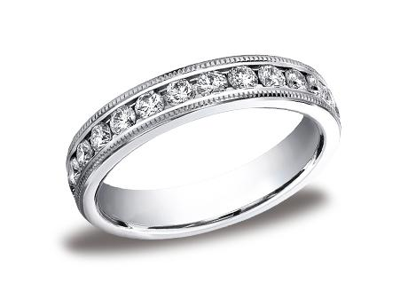 White Gold Ring - 534550WG - White Gold, 4mm, 1.04ct, Available: gold, plat