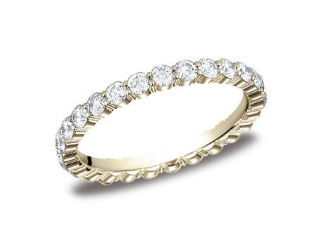 Yellow Gold Ring - 5525723YG - Yellow Gold, 2.5mm, 1.12ct, Available: gold