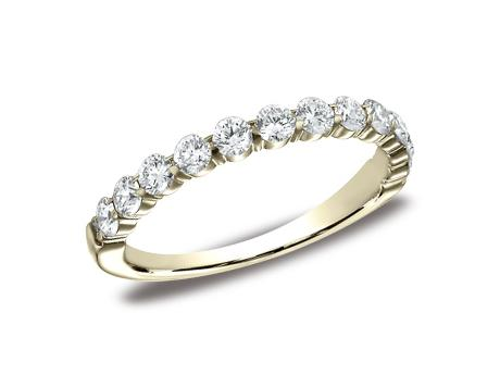 Yellow Gold Ring - 553822YG - Yellow Gold, 3mm, 0.72ct, Available: gold