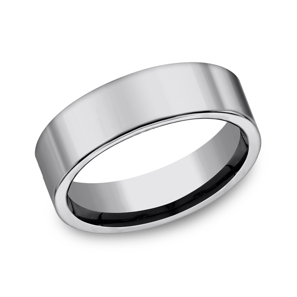 Tungsten Ring - Tungsten, 7mm, Available: tungsten