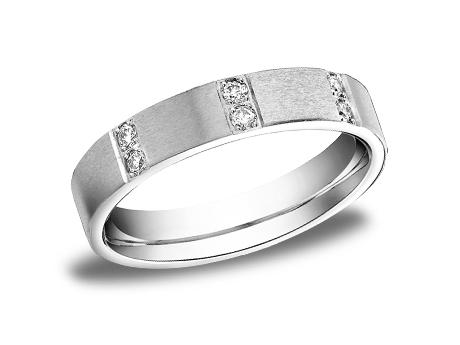White Gold Ring - CF524713WG - White Gold, 4mm, .32ct, Available: gold