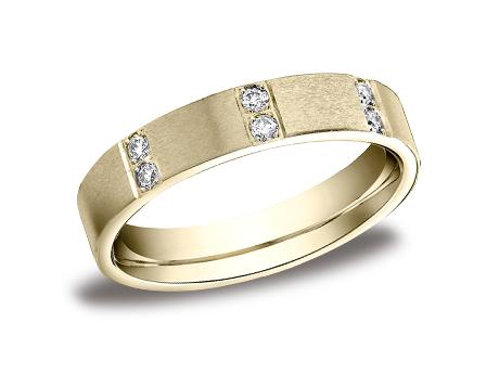 Yellow Gold Ring - CF524713YG - Yellow Gold, 4mm, .32ct, Available: gold