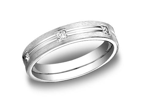White Gold Ring - CF524828WG - White Gold, 4mm, .30ct, Available: gold