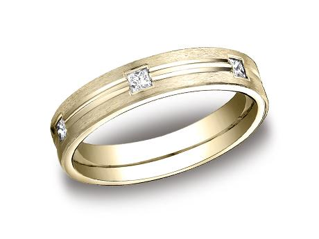 Yellow Gold Ring - CF524828YG - Yellow Gold, 4mm, .30ct, Available: gold