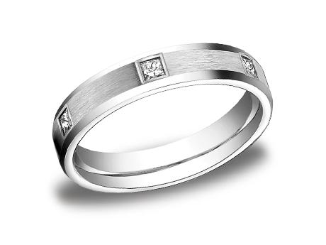 White Gold Ring - CF524832WG - White Gold, 4mm, .30ct, Available: gold