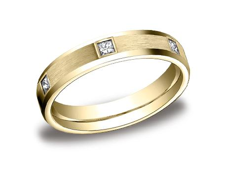 Yellow Gold Ring - CF524832YG - Yellow Gold, 4mm, .30ct, Available: gold