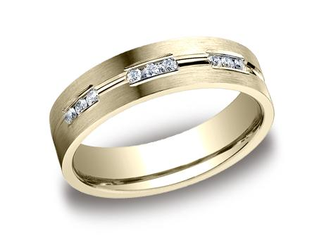 Yellow Gold Ring - CF526533YG - Yellow Gold, 6mm, .36ct, Available: gold, palladium, plat
