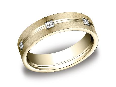 Yellow Gold Ring - CF526828YG - Yellow Gold, 6mm, .60ct, Available: gold