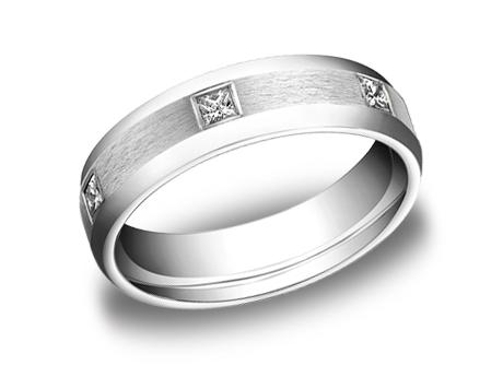 White Gold Ring - CF526832WG - White Gold, 6mm, .60ct, Available: gold
