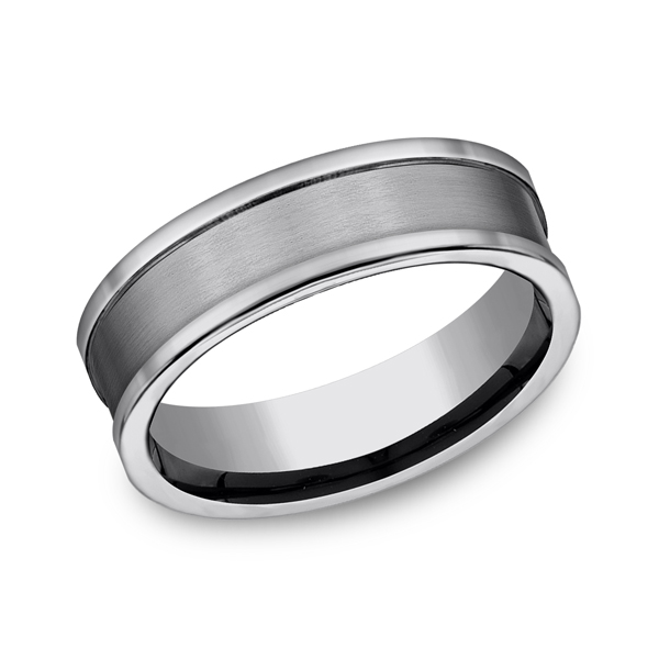 Tungsten Ring - CF67450TG - Tungsten, 7mm, Available: tungsten