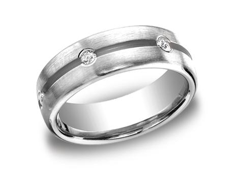 White Gold Ring - CF717500WG - White Gold, 7.5mm, .36ct, Available: gold