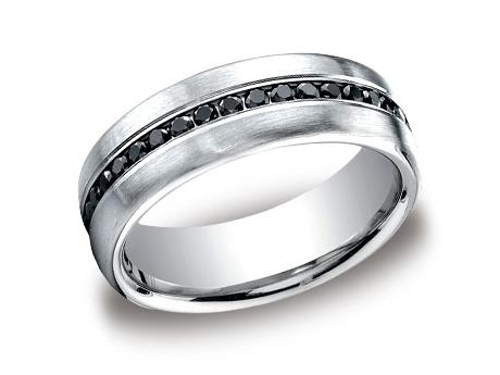 White Gold Ring - CF717551WG - White Gold, 7.5mm, .40ct, Available: gold, plat