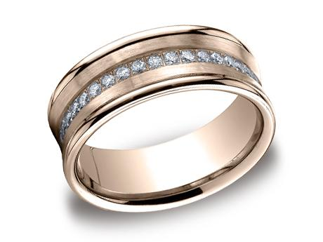 Rose Gold Ring - CF717593RG - Rose Gold, 7.5mm, .32ct, Available: gold