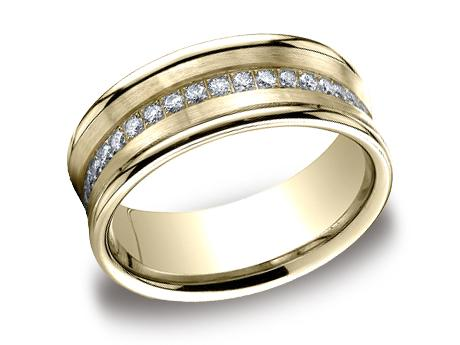 Yellow Gold Ring - CF717593YG - Yellow Gold, 7.5mm, .32ct, Available: gold