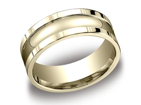 Yellow Gold Ring - CFSE78200YG - Yellow Gold, 8mm, Available: gold