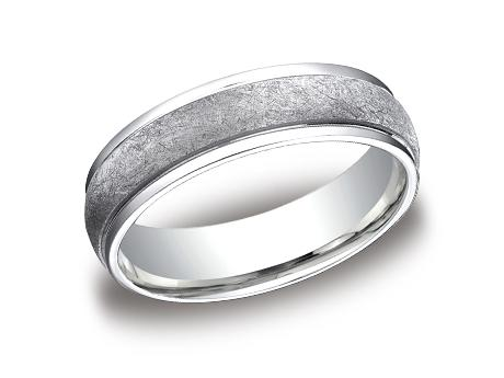 White Gold Ring - CFW156070WG - White Gold, 6mm, Available: gold, plat