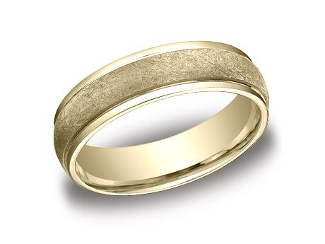 Yellow Gold Ring - CFY156070YG - Yellow Gold, 6mm, Available: gold, plat