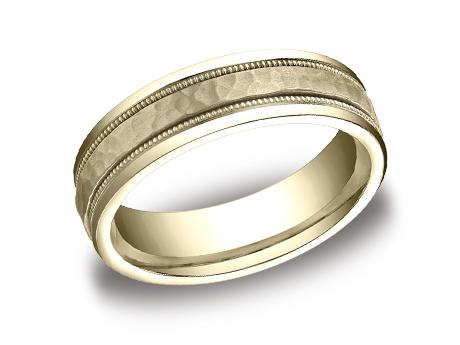 Yellow Gold Ring - CFYB156309YG - Yellow Gold, 6mm, Available: gold, titanium, cobalt