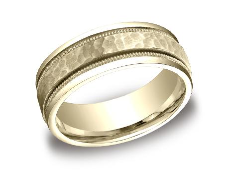 Yellow Gold Ring - CFYB158309YG - Yellow Gold, 8mm, Available: gold, titanium, cobalt