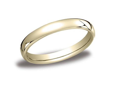 Yellow Gold Ring - EUCF135YG - Yellow Gold, 3.5mm, Available: gold, plat, palladium