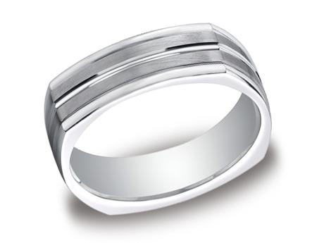 White Gold Ring - EURECF57180WG - White Gold, 7mm, Available: gold