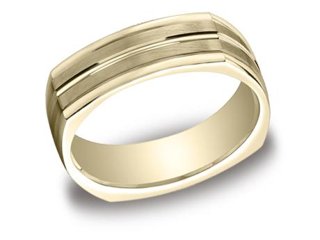 Yellow Gold Ring - EURECF57180YG - Yellow Gold, 7mm, Available: gold