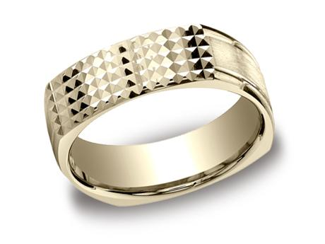 Yellow Gold Ring - EURECF57181YG - Yellow Gold, 7mm, Available: gold