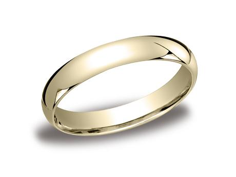 Yellow Gold Ring - LCF140YG - Yellow Gold, 4mm, Available: gold, plat, palladium