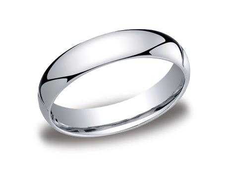 White Gold Ring - LCF150WG - White Gold, 5mm, Available: gold, plat, palladium