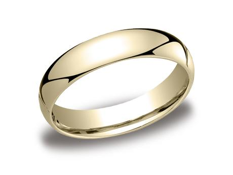 Yellow Gold Ring - LCF150YG - Yellow Gold, 5mm, Available: gold, plat, palladium