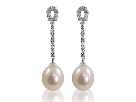 Pearl Earrings - Please visit our store to see our entire collection of fine jewelry.