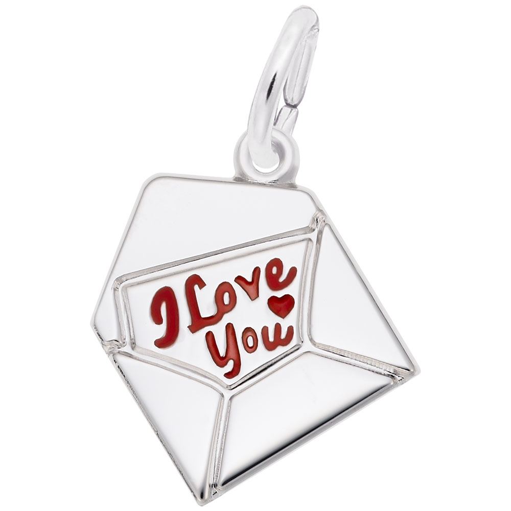 Love Letter - Love Letter  Love & Hearts  Charm.material:  Sterling Silver