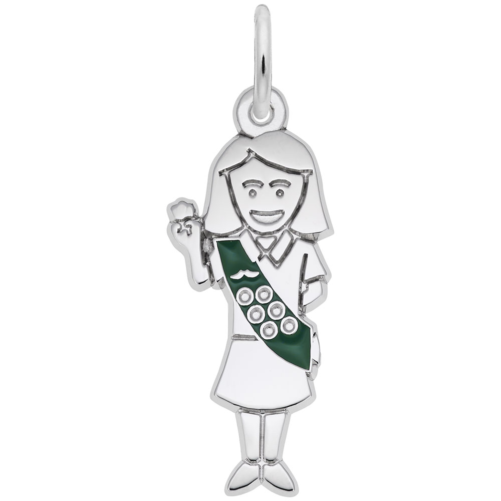 Scout - Scout  Hobbies & Accomplishments  Charm.material:  Sterling Silver