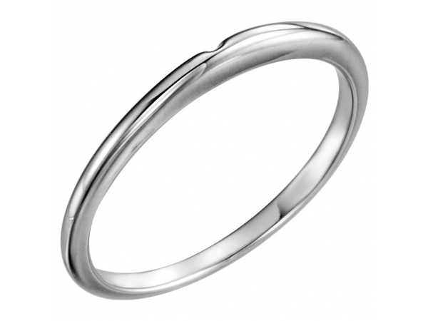Matching Band Matching Band - Platinum #2 Matching Band with One-Notch